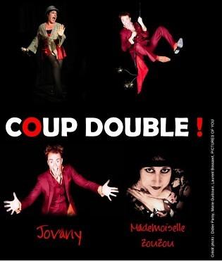 La compagnie humoristique coup double sera les invitées de l'émission humour plus le samedi 18 janvier 2014